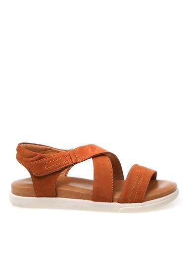 Cotton Bar Sandalet Taba